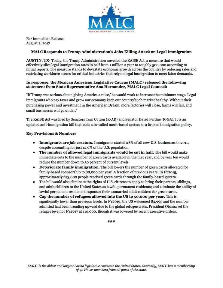 Sept 2 Press Release