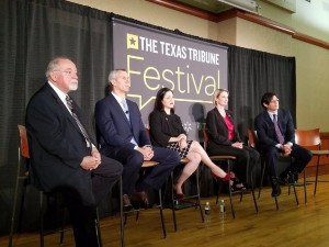 "State Rep. Ana Hernandez, Legal Counsel of MALC, discusses the implications of ""anti-sanctuary cities"" legislation at the 2017 Texas Tribune Festival on Sept. 23."